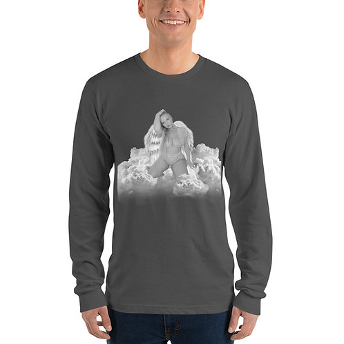 Grey In The Clouds Long sleeve t-shirt
