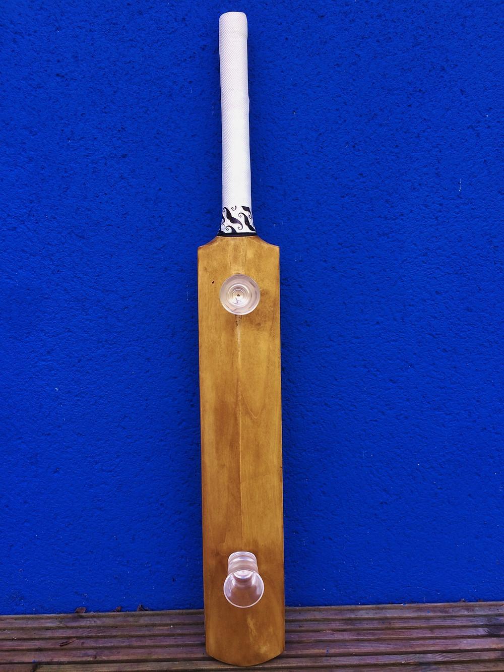 The new and unique Shot Cricket Bat. Perfect for a gift for cricket fans, or perfect for a party!