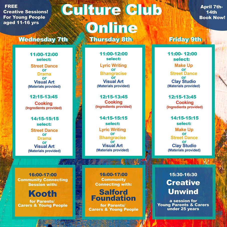 Easter Culture Club Programme Week 1 .jp
