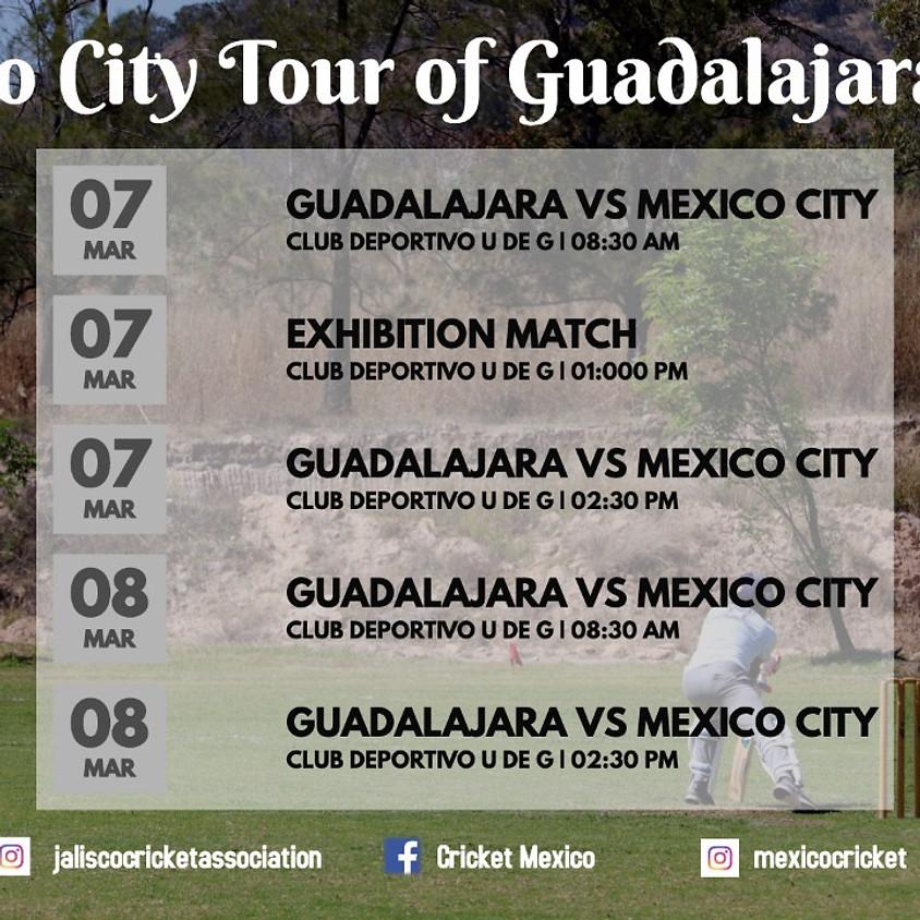 Gira de la Ciudad de México a Guadalajara