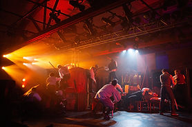 musical theatre lighting design by Ric Zimmerman, litegeist llc