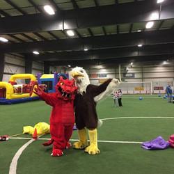 Mac the Eagle & Blaze the Dragon!