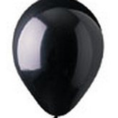 "12"" Crystal Black Onyx Latex"