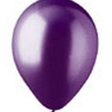 "12"" Metallic Deep Purple Latex"