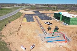 Gas Station Grade Work