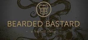Bearded Bastard Barber Shop logo