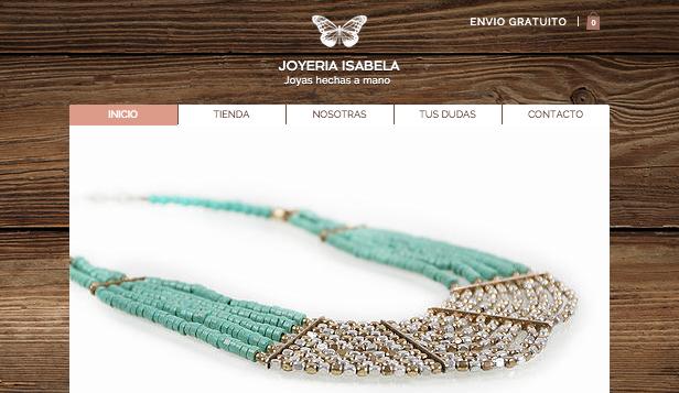 2ace56a1ed3 Joyería y accesorios plantillas web – Joyería artesanal