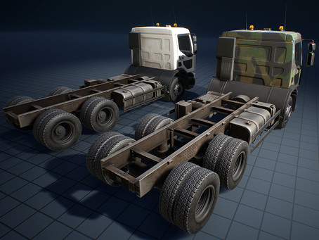 Truck, Garbage truck, Truck for anti-aircraft guns