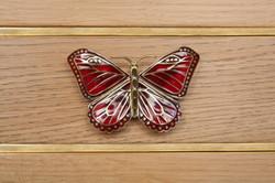 Détail poignée papillon