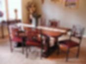 Santa Fe Tresstle Table