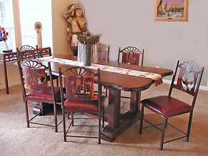 Santa Fe Trestle Table