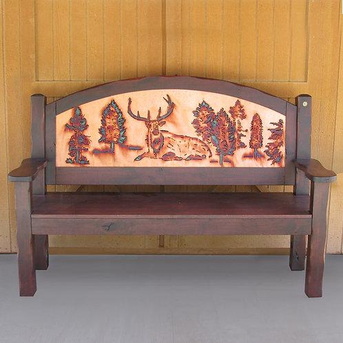 Elk Pines Bench Sq