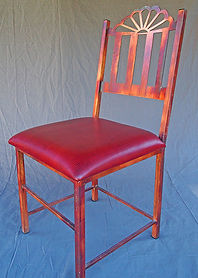 Western Chair - copper finish