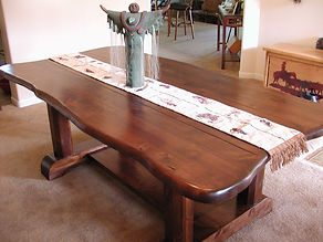 Santa Fe Trestle Table