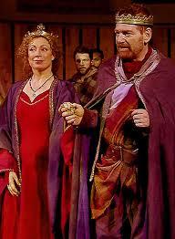 Alex Kingston in Macbeth
