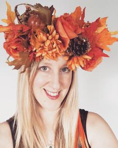 Autumnal Flower Crown
