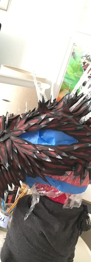 Dragon Headpiece Construction