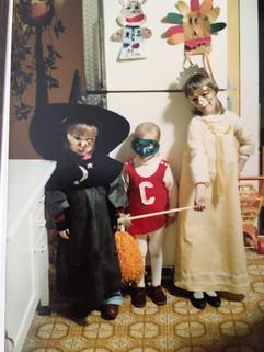 Witch, Cheerleader, Princess