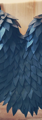 The Morrigan Raven Feather Armor