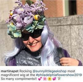 Springtime Sprite Wig Customer Photo