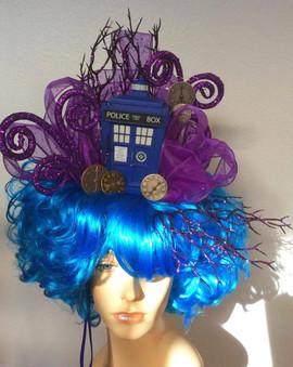 TARDIS in the Time Vortex Wig