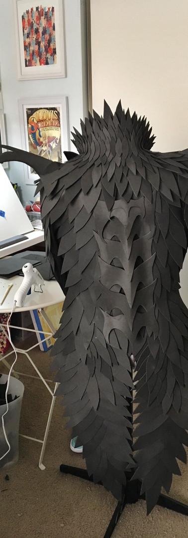 Dragon Scale Jacket Progress