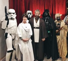 Mon Mothman, Obi Wan, and the 501st.