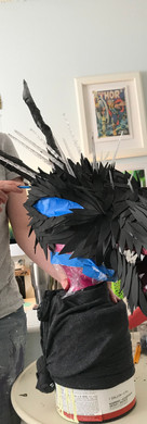 Dragon Headpiece Construction