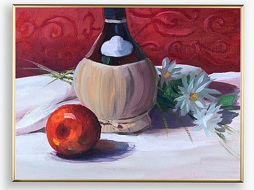 "Art Print - ""Apple Chianti"""