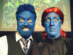 Beast and Mystique