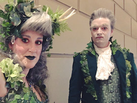 The Gentleman w/the Thistledown Hair and the Fae Forest Lady