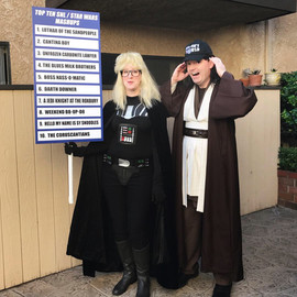 Garth Vader and Obi Wayne Kenobi