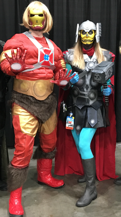 He-Iron Man and Skelethor