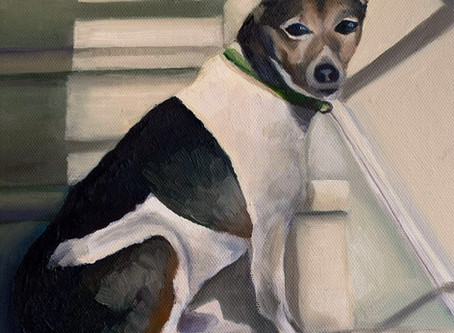 Pet Portrait Commission - Wellington