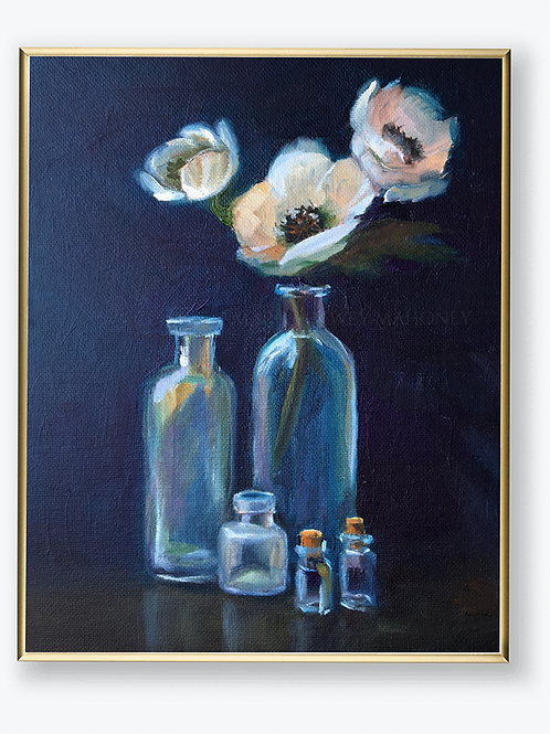 "Art Print - ""Westerly Bottles"""