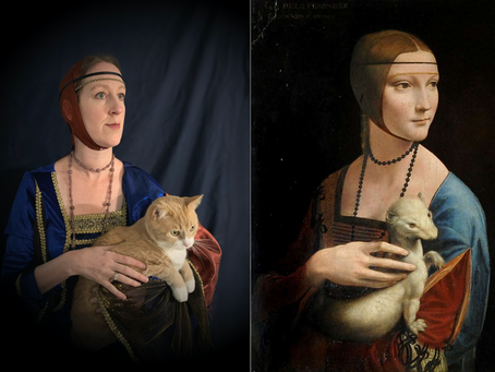 Quarantine Projects - Recreating Classic Paintings
