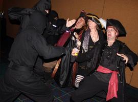 Ninjas vs Pirates!