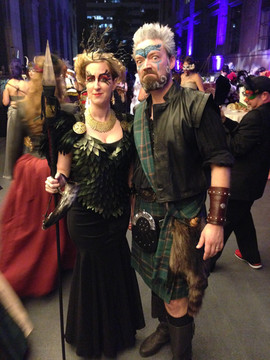 The Morrigan and her Celtic Warrior