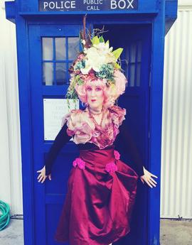 Effie Trinket (kinda)