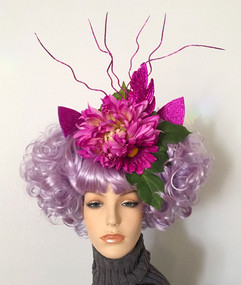 Cheshire Cat Floral Wig