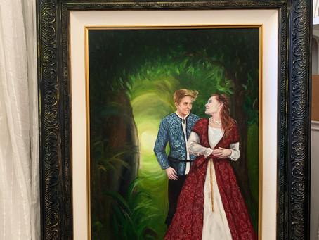 A Wedding Portrait of The Mercers