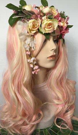 Peachy Princess Wig