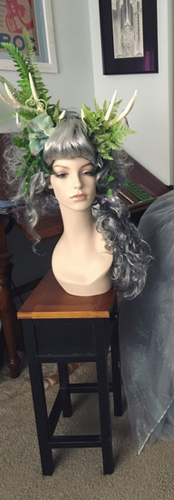 Forest Lady Costume Finshed