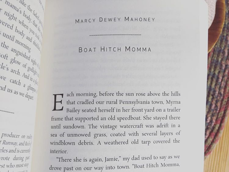 """""""Boat Hitch Momma"""" included in the 2018 NaNo Los Angeles Anthology """"Shadowed Doorways"""