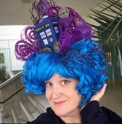 TARDIS Wig Customer Photo