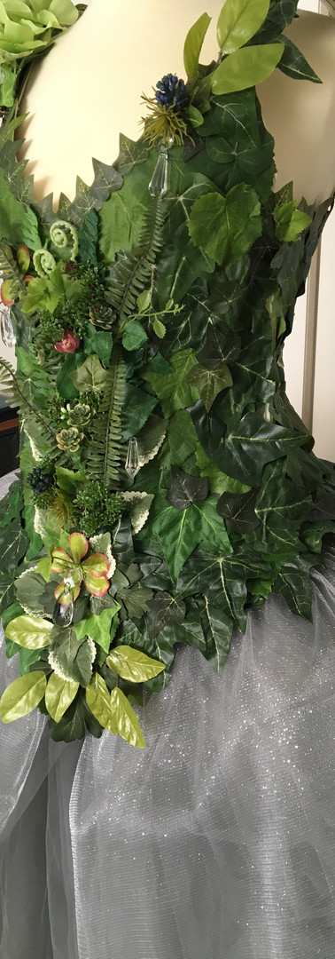 Forest Lady Corset Progress