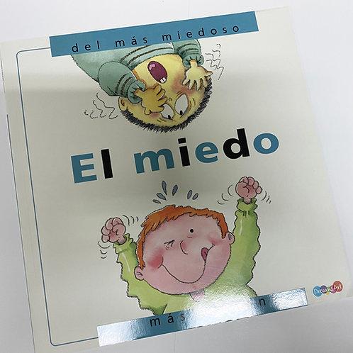 LIBRO EMOCIONAL EL MIEDO C/3 PZ