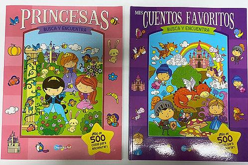 LIBRO BUSCA Y ENCUENTRA C/8 PZ