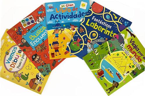 LIBROS DE ACTIVIDADES 5 PZ