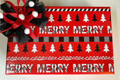Regalo RED MERRY Pliegos Grandes 95cm X 68cm C/12 PZ